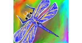 Drawing of Dragonfly by Eagle🦅🐬