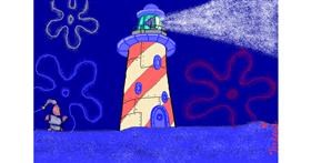 Drawing of Lighthouse by InessaC