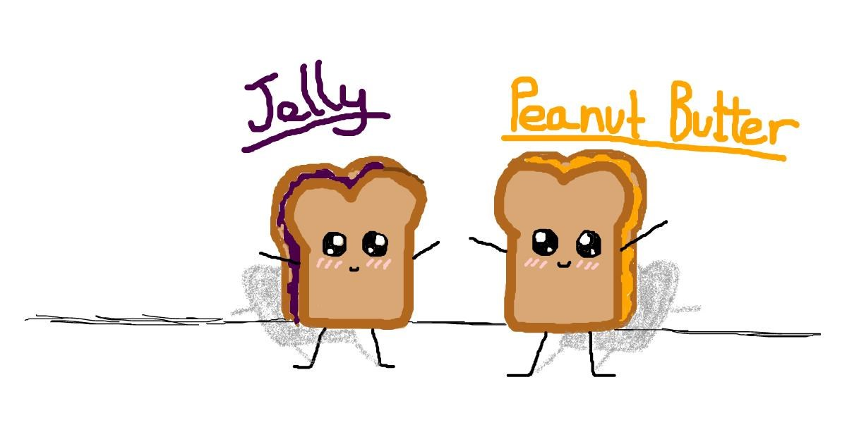Drawing of Sandwich by kat