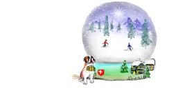 Snow globe drawing by Kai 🐾