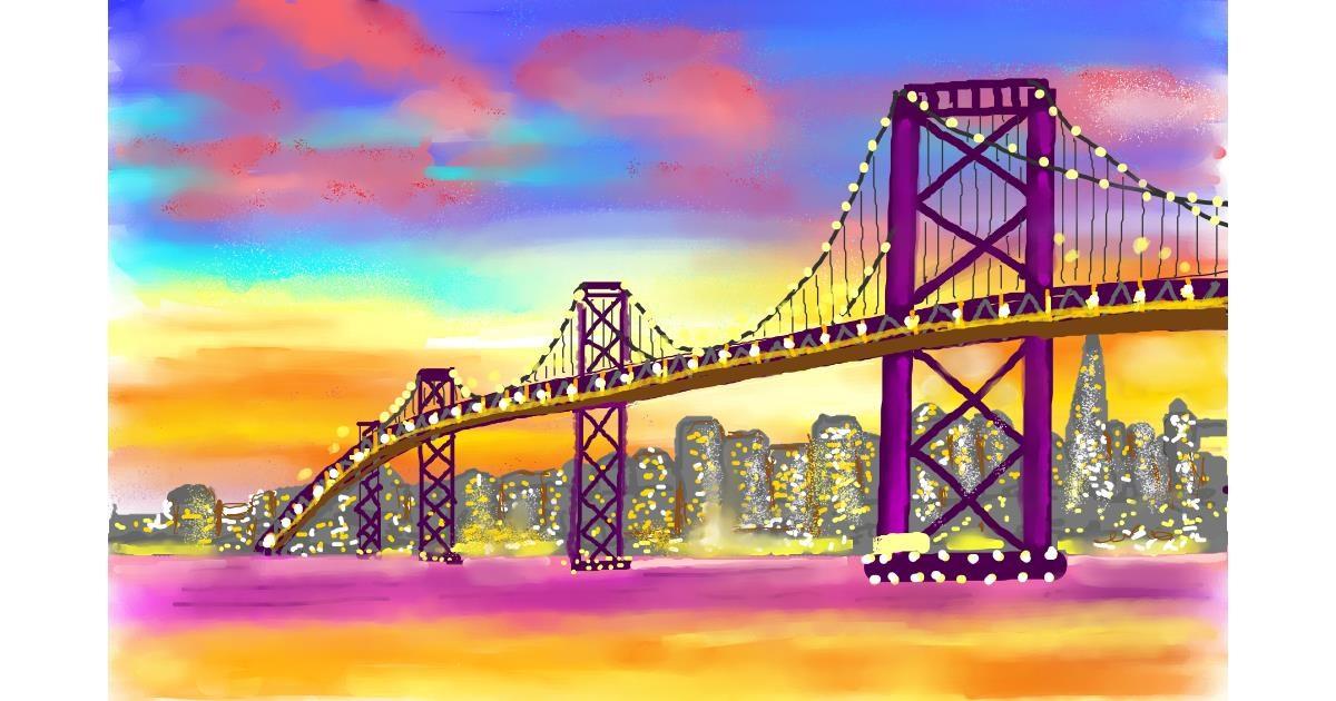 Bridge drawing by GJP