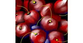 Cherry drawing by Shaurya 🇮🇳👳