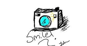 Drawing of Camera by Anonymous