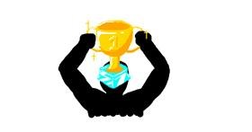Drawing of Trophy by PTLS