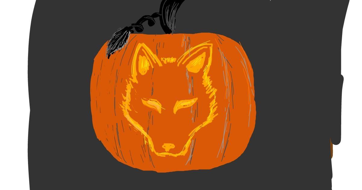 Pumpkin drawing by ShyFox