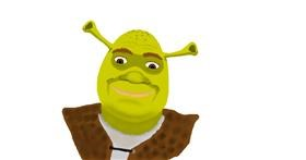 Shrek drawing by Cahaya