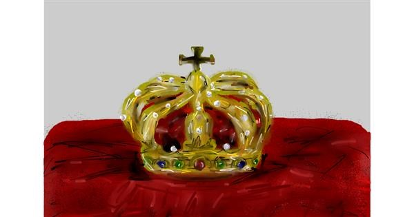Crown drawing by Soaring Sunshine