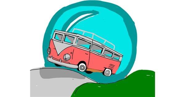 Van drawing by MIFRx