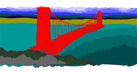 Bridge drawing by dan