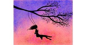 Drawing of Swing by Darta