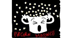 Drawing of Popcorn by Zerous 👩🎤