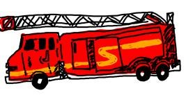 Firetruck drawing by Ash