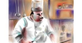 Drawing of Chef by Wizard
