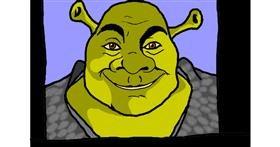 Drawing of Shrek by InessaC