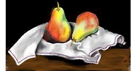 Pear drawing by SAM AKA MARGARET 🙄