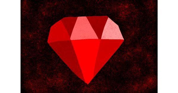 Diamond drawing by 🌷ROSE 🌷