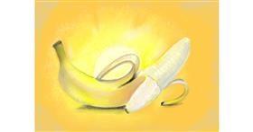 Banana drawing by SAM 🙄