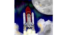 Rocket drawing by mr yj