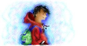 Drawing of Backpack by Stephanie