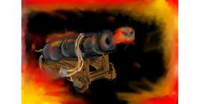 Cannon drawing by Answer Streak🔥