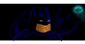 Bat drawing by Helena