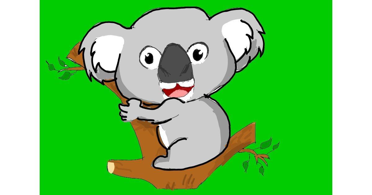 Drawing of Koala by ThasMe13