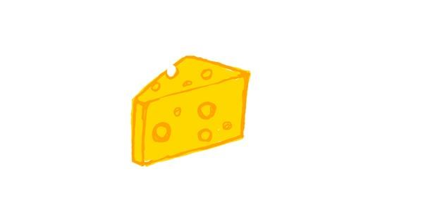 Cheese drawing by Ufo