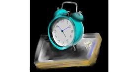 Drawing of Alarm clock by Yashi 🐢