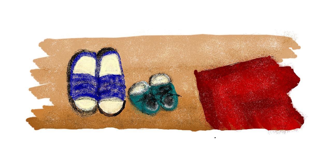 Shoe drawing by TheDiamond