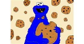 Cookie drawing by loser eerawn