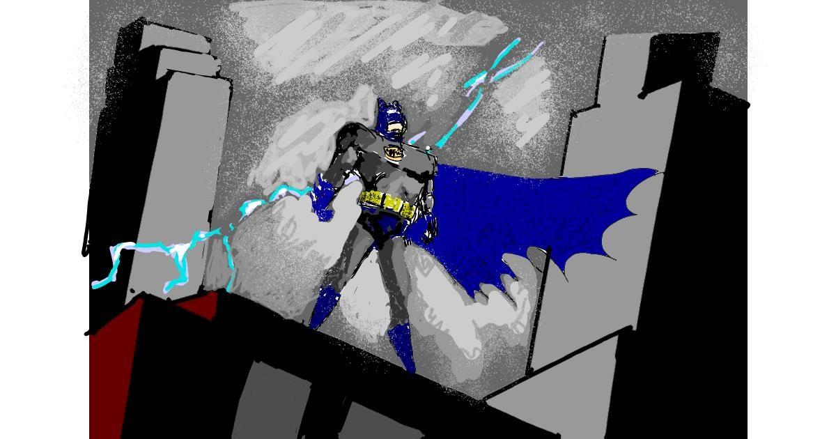 Batman drawing by ThasMe13