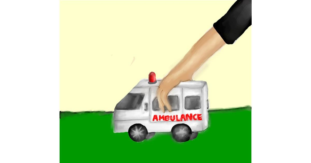 Ambulance drawing by NashNash😎