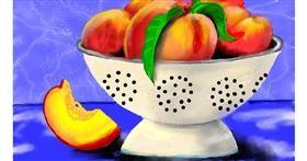 Drawing of Peach by SAM AKA MARGARET 🙄