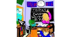 Teacher drawing by SIREN