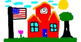 School drawing by Mi4T^-^