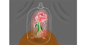 Flower drawing by Randar