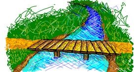 Bridge drawing by Jeezits