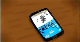 Drawing of Phone by Alpha