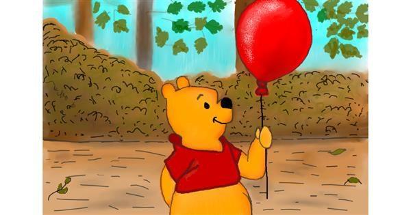 Balloon drawing by Lollipop