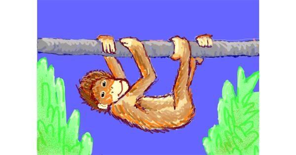 Monkey drawing by smackerel