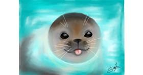 Seal drawing by Sophie_draw24