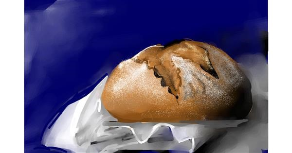Bread drawing by Rose rocket