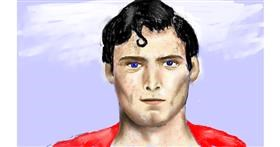 Superman drawing by tRay