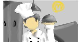 Drawing of Chef by wan.n anim
