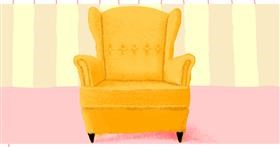Drawing of Chair by Helena