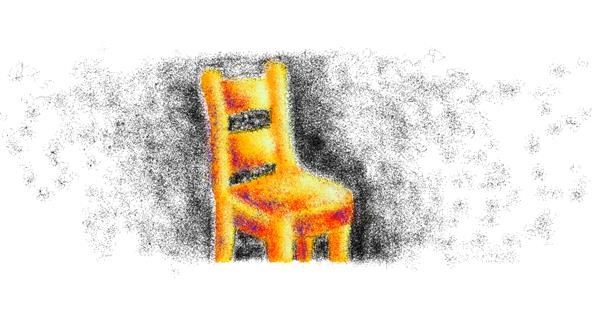 Chair drawing by Rei
