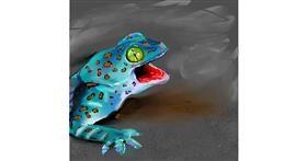 Lizard drawing by Rose rocket