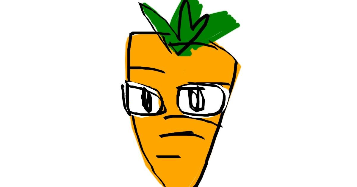 Carrot drawing by torielislove