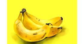 Banana drawing by Rose rocket