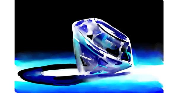 Diamond drawing by Rose